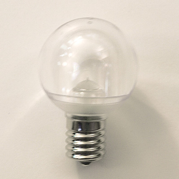 Smooth LED G40 Bulb (C9 Base)