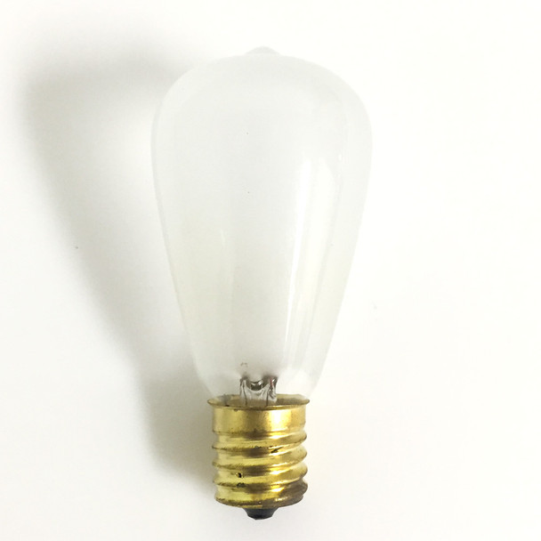 C9 Vintage Bulb, Frosted