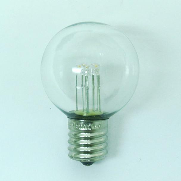 LED G40 Premium Bulb, C9 Base
