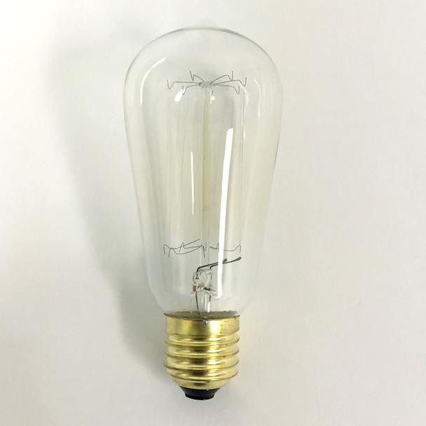 Vintage ST58 Edison Bulb