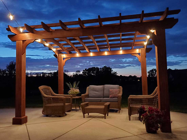 LED Outdoor String Lights feature