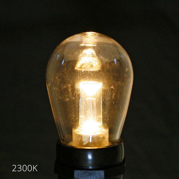Professional LED S14 Bulb, 2300K