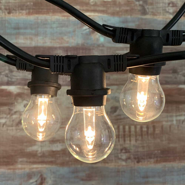 48' Commercial String Light with LED A15 Professional Plastic Bulbs