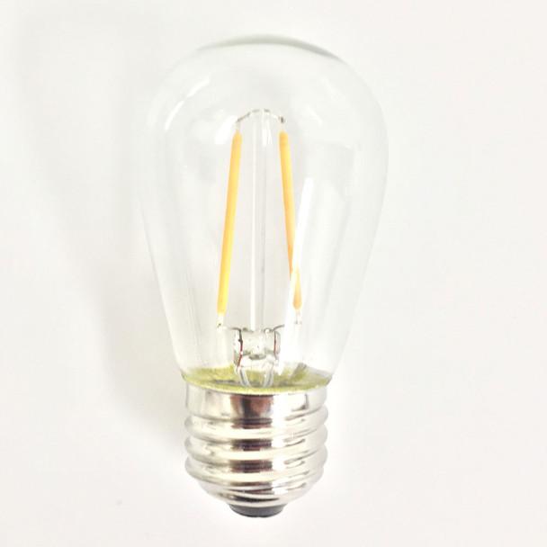 Vintage LED S14 Plastic Bulb