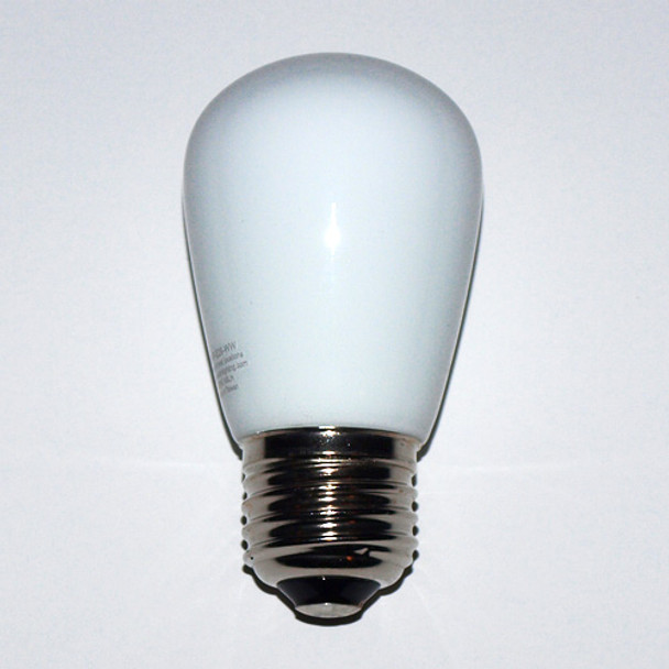 Professional LED S14 Bulbs, Opaque Warm White