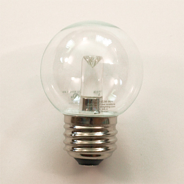 Professional LED G50 Bulb, Cool White