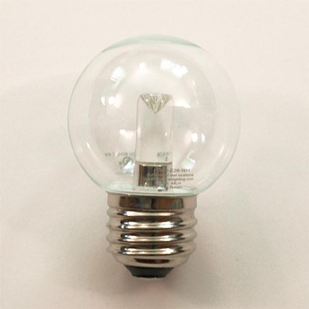 Professional LED G50 Bulb, Warm White