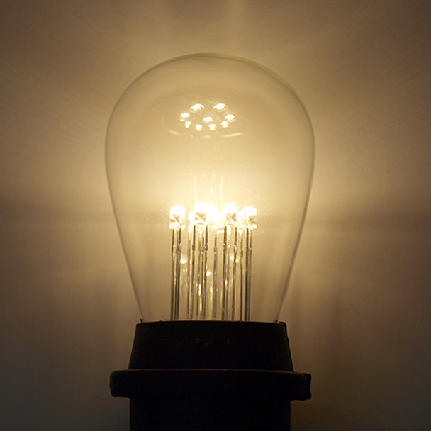 Premium LED S14 Bulb, 9 LEDs