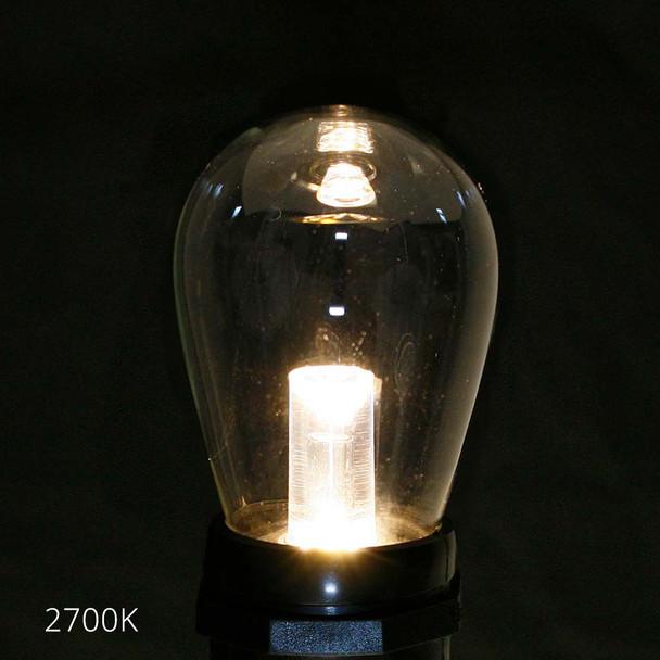 Professional LED S14 Bulb, 2700K