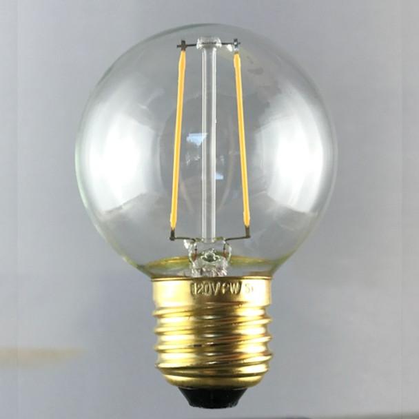 LED G50 vintage filament bulb