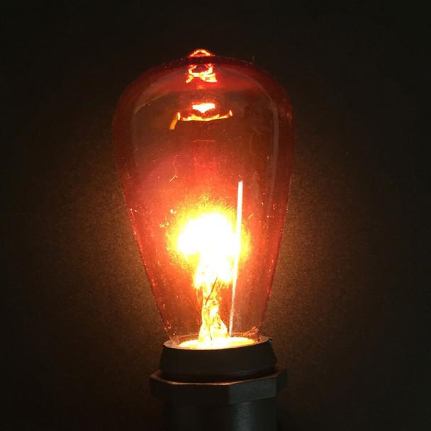 ST58 Vintage Edison (C9 base), amber