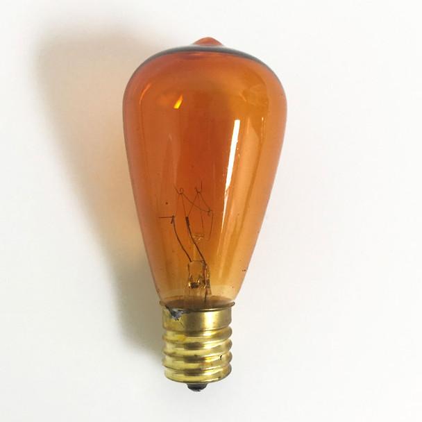 ST58 Vintage Edison (C9 base), amber unlit