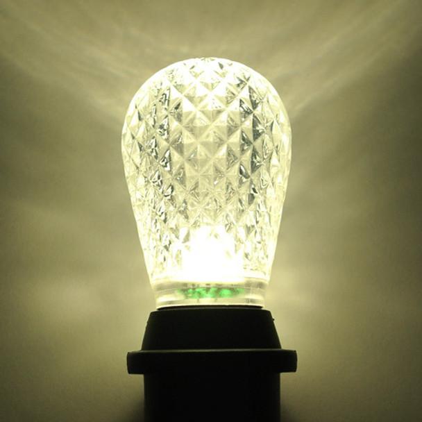 LED S14 Bulb, Warm White