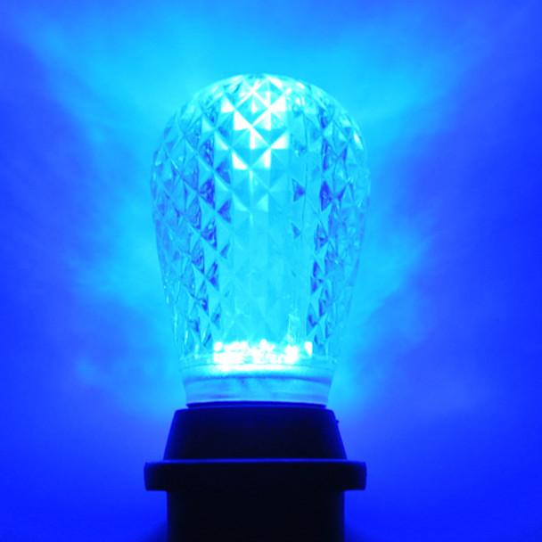 LED S14 Bulb, Blue
