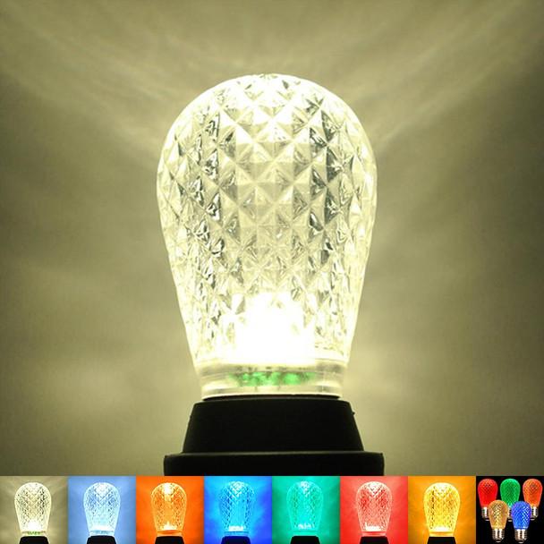 LED S14 Bulb thumbnail color options