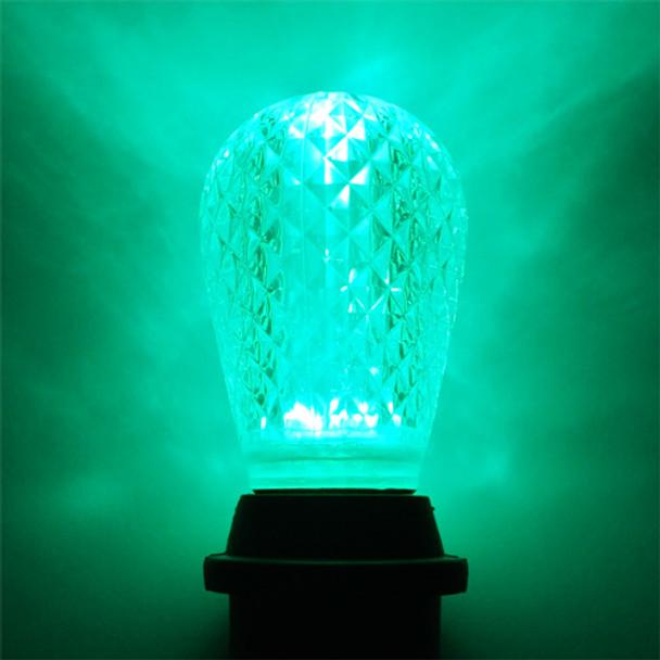 LED S14 Bulb, Green