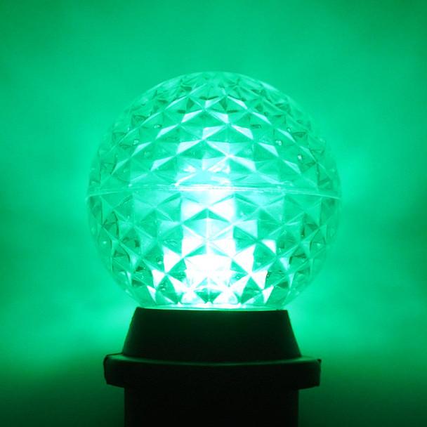 LED G50 Bulb, green