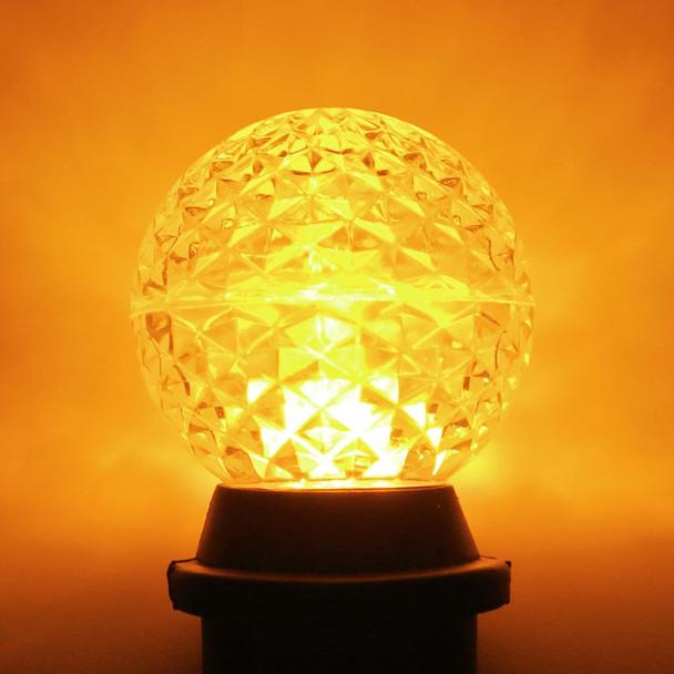 LED G50 Bulb, yellow
