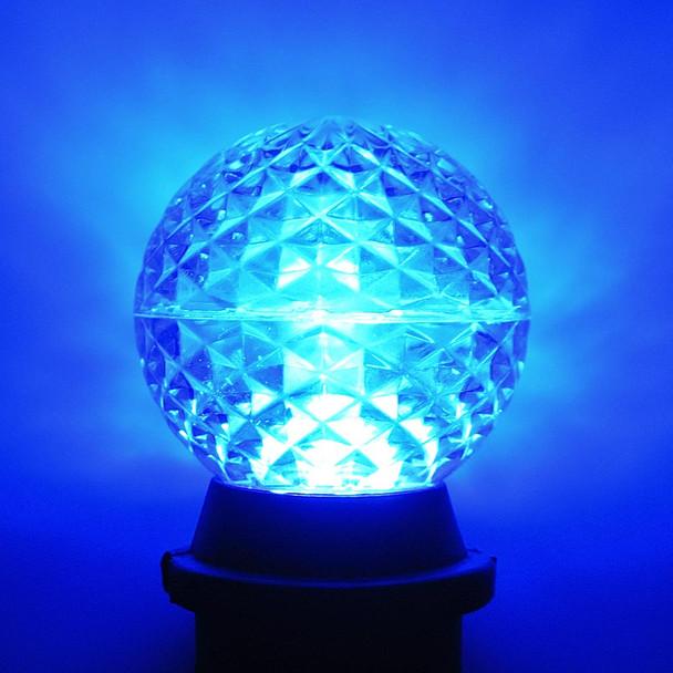 LED G50 Bulb, blue