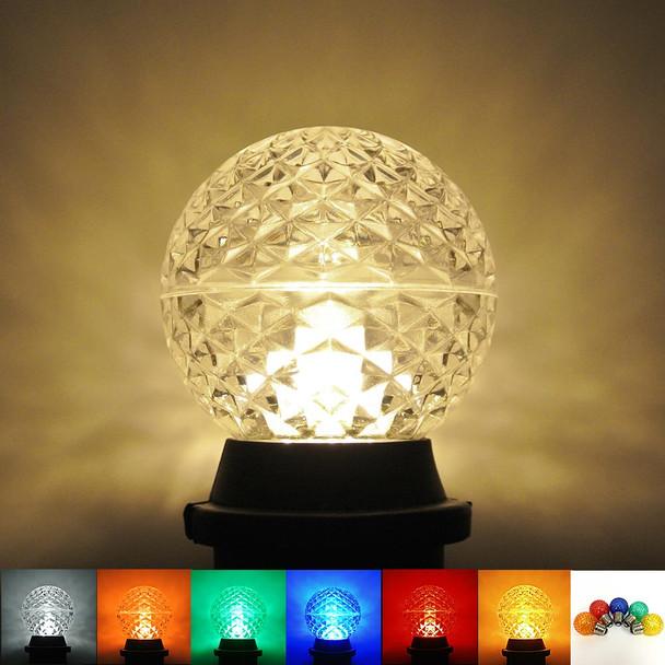 LED G50 Bulb, all colors