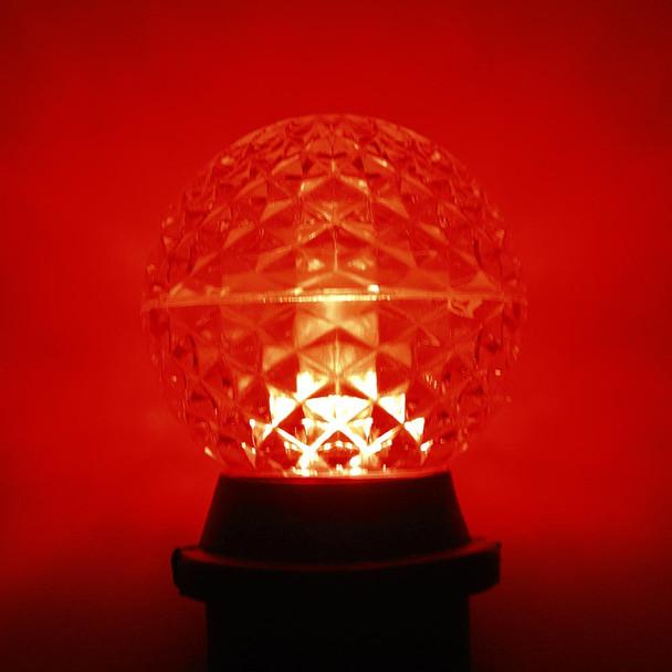 LED G50 Bulb, red