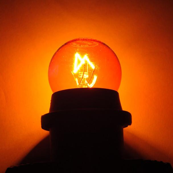 Amber S11 Sign Bulb
