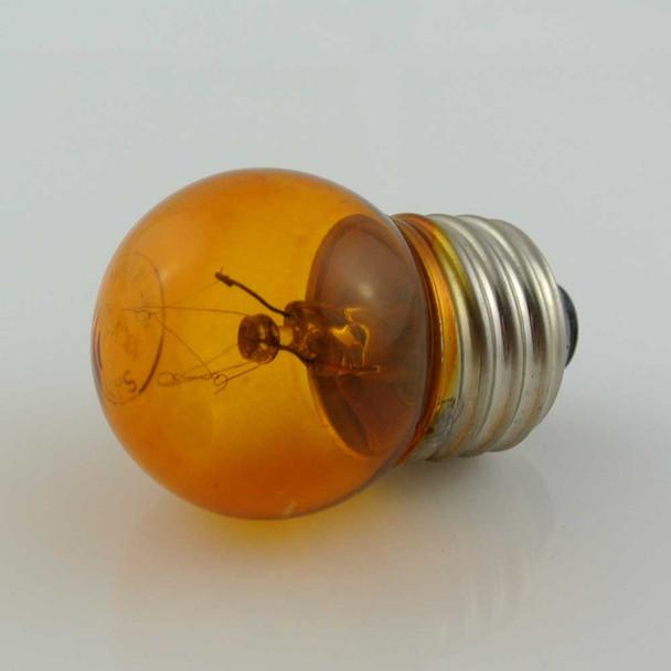 Amber S11 Sign Bulb (unlit)