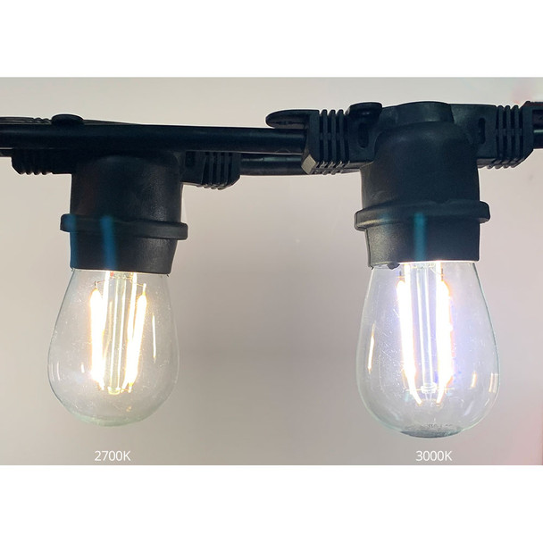 LED S14 Vintage bulb (2700K HR v 3000K)