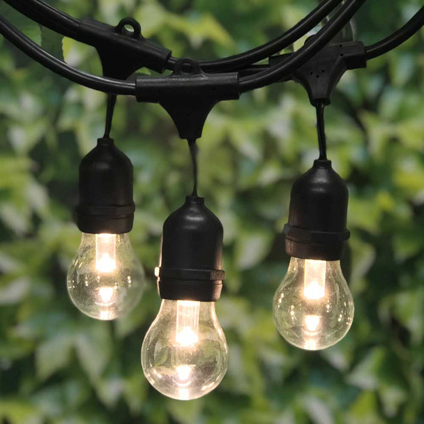 Outdoor String Lights with LED A15 Professional Bulb