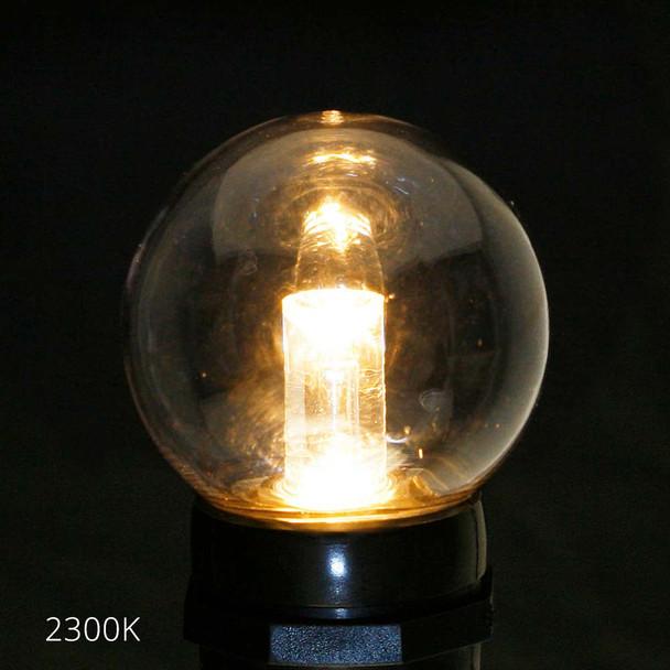 Professional LED G50 Bulb, 2300K