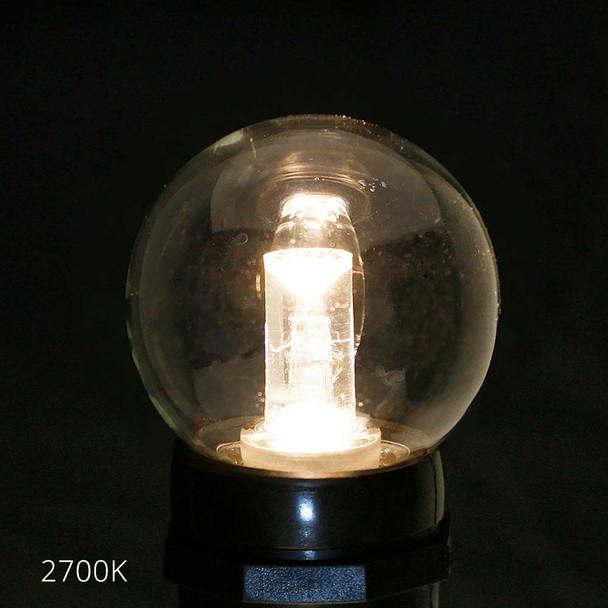 Professional LED G50 Bulb, 2700K