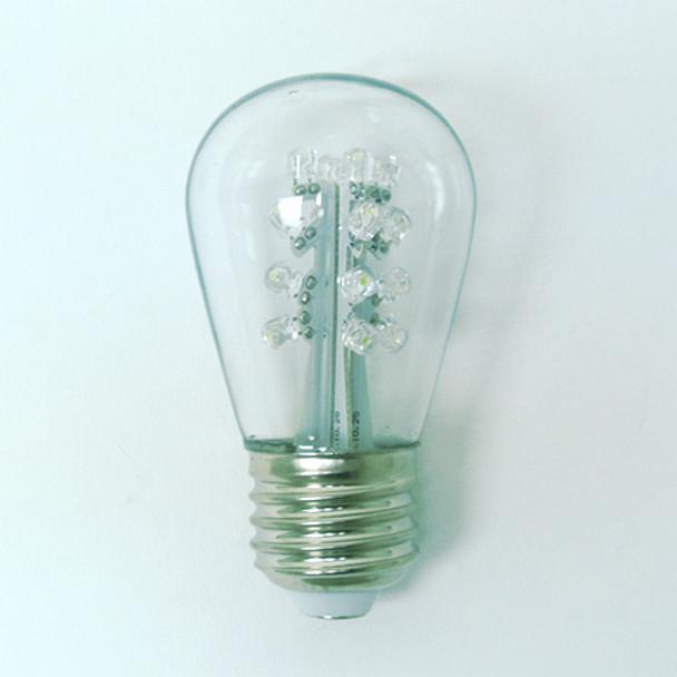 Premium LED S11 Bulb, Cool White (unlit)