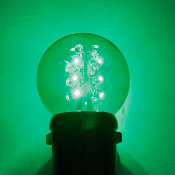 Premium LED G50 Bulb - Green
