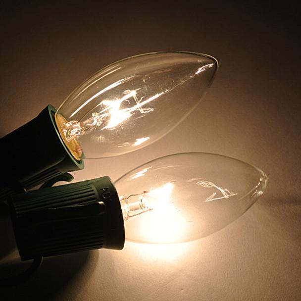Clear C9 Bulb