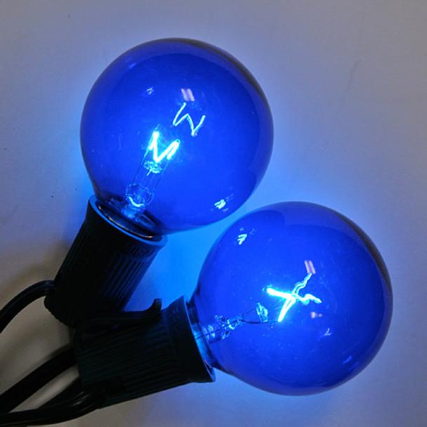 Blue G50 Bulbs (C9 base)