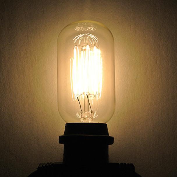 T14 Edison Bulb - squirrel cage filament - 25W