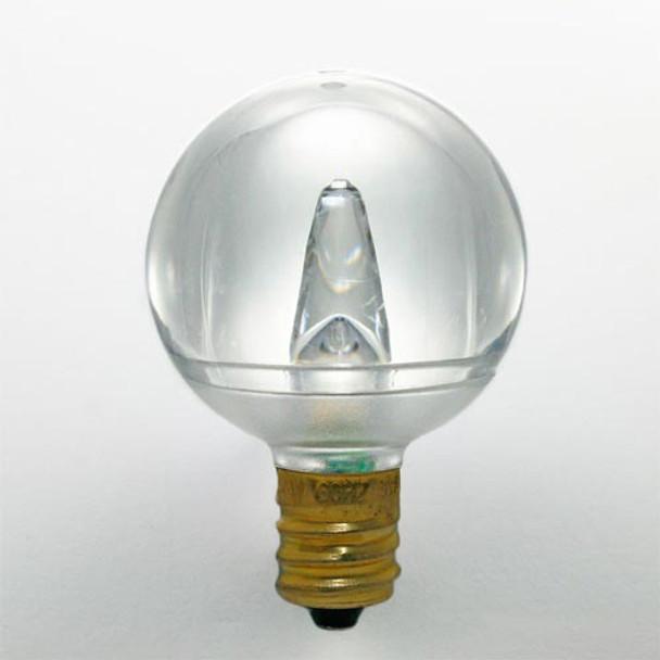 Smooth LED G40 Bulb, warm white, C9 base (unlit)