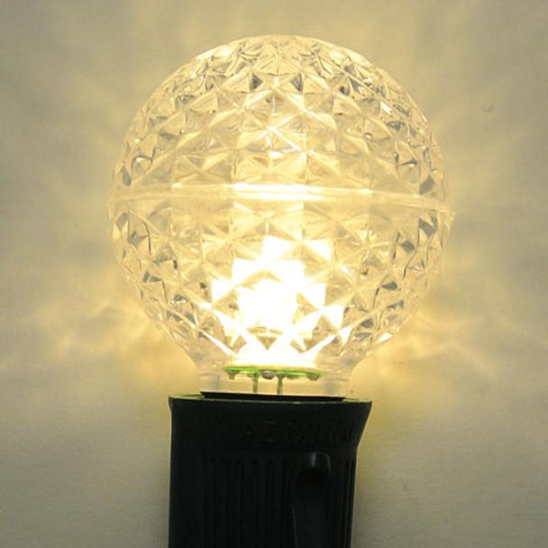 LED G40 Bulb, warm white, C9 base