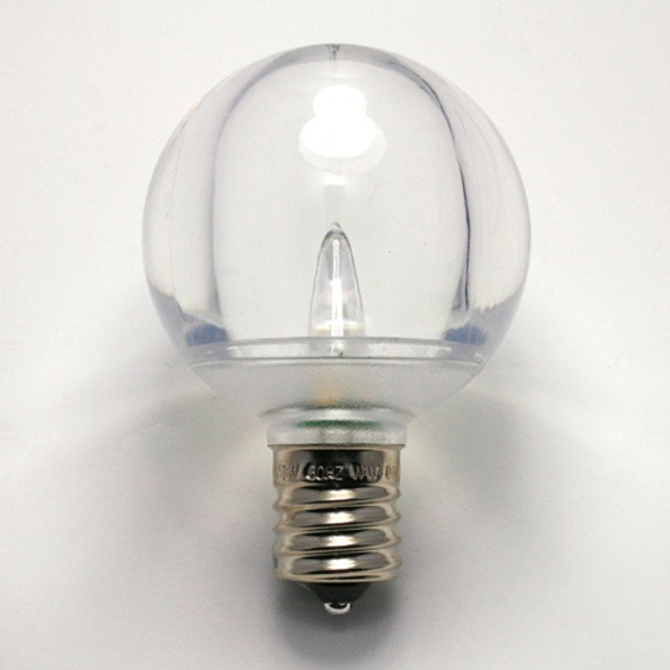 LED G50 Smooth Bulb single