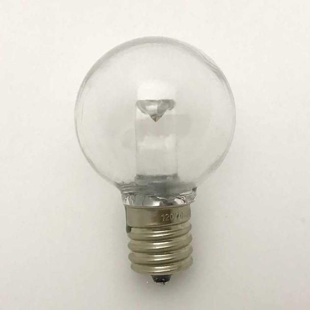 LED G40 Professional Plastic Bulb, C9 Base