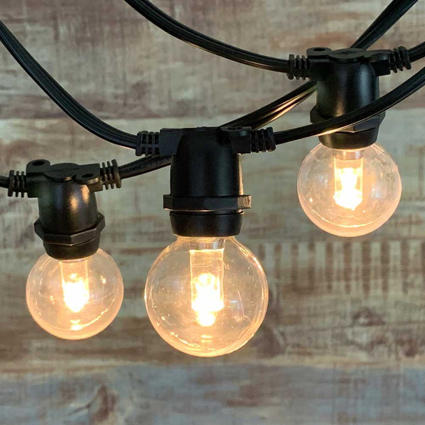 String Light with LED G40 Professional Plastic Bulb