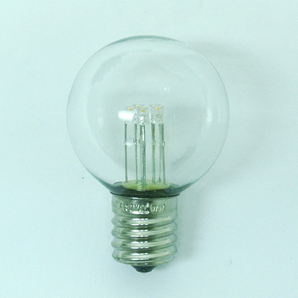 Premium LED G40 Bulb, Warm White, C9 E17 base (unlit)