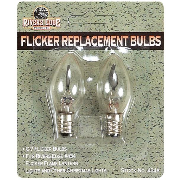 C7 Flicker Replacement Light Bulbs