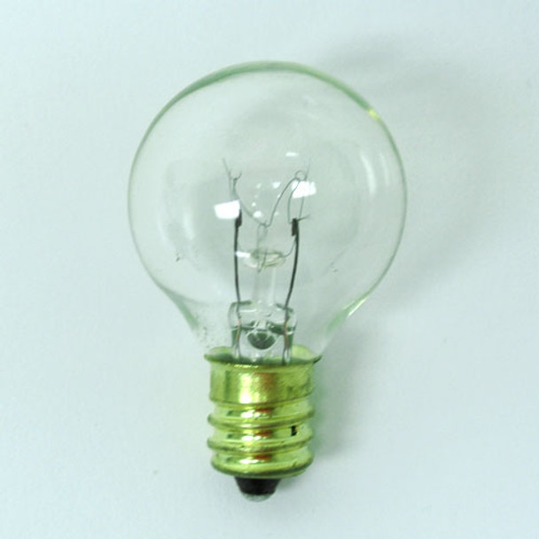 G30 Clear Bulb - C7 Base unlit