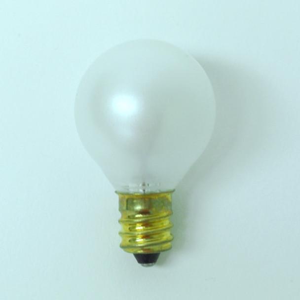 G30 White Satin Bulb - C7 Base unlit