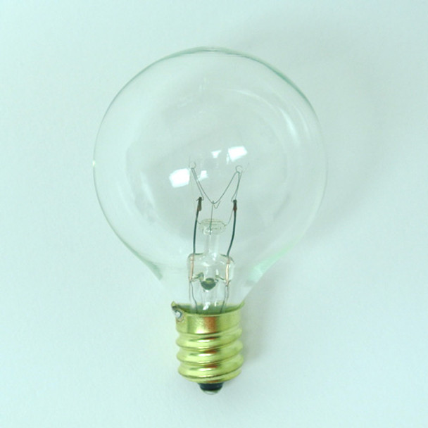 G40 Clear Bulb - C7 Base single bulb