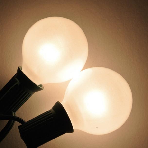 G40 White Satin Bulb - C7 Base