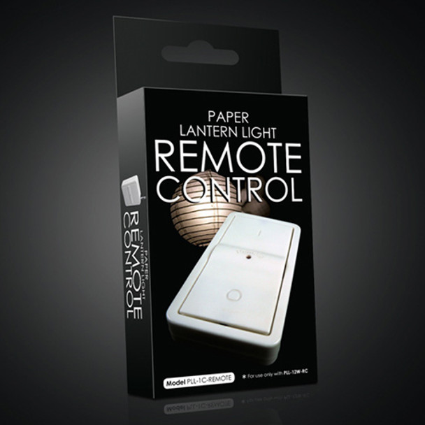 Remote Control for LED Battery Operated Lantern Light Kit Packaging