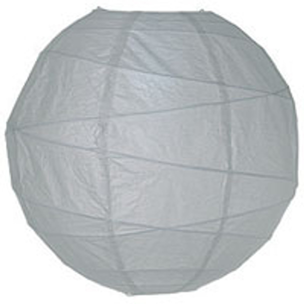 Dove Grey Paper Lantern 14 in.
