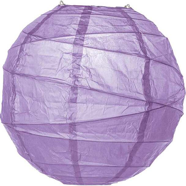 Wisteria Purple Paper Lantern 14 in.